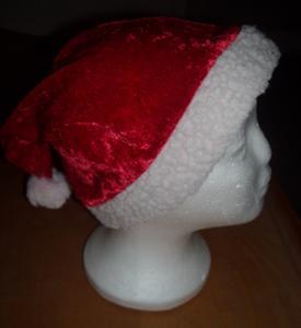 kostým - vánoční čapka mix 5 ks