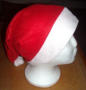 kostým - vánoční čapka mix 6 ks