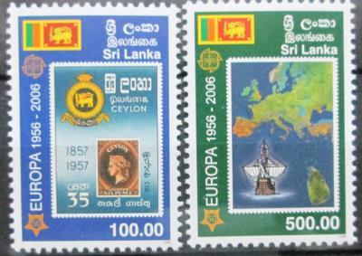 Srí Lanka 2006 Evropa CEPT Mi# 1525-26 15€ 0433