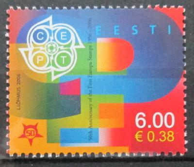 Estonsko 2006 Výročí Evropa CEPT Mi# 537 1655