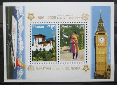 Bhútán 2006 Evropa CEPT Mi# Block 477 Kat 20€ 0434
