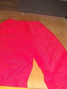 kostým - vánoční kalhoty