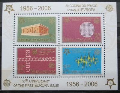 Srbsko 2005 Výročí Evropa CEPT Mi# Block 59 0440