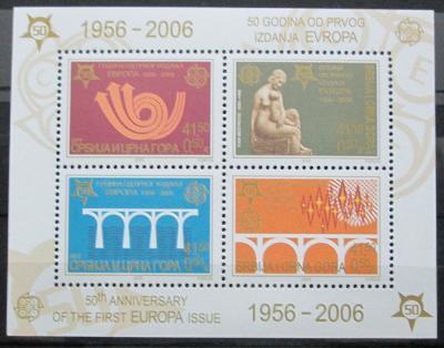 Srbsko 2005 Výročí Evropa CEPT Mi# Block 60 0440