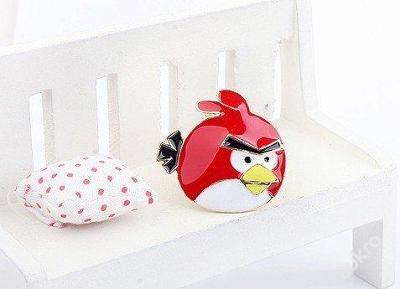 Prsten Angry Birds univerzálný divčí
