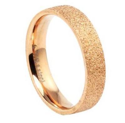 Prsten pozlacený 18K třpytící 17mm *303