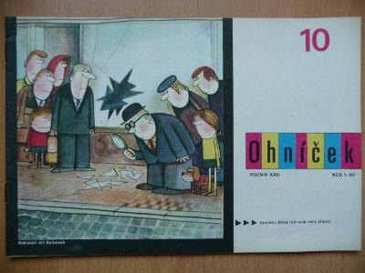 Časopis - OHNÍČEK - ročník XXII - č.10 z roku 1972