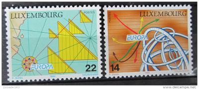 Lucembursko 1994 Evropa CEPT Mi# 1340-41 0453