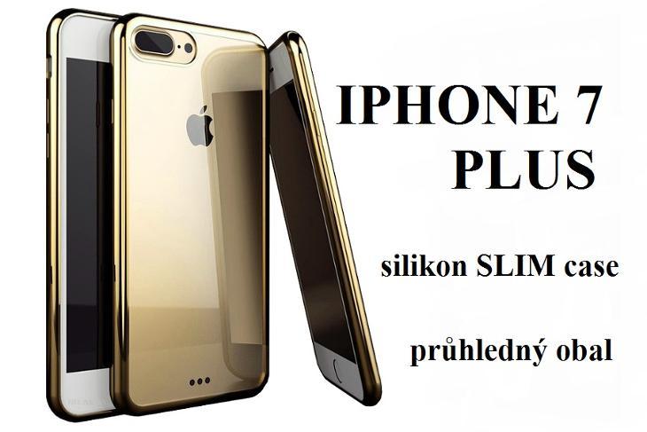 KRYT obal _ IPHONE 7 PLUS silikon SLIM case _ va24 - Obaly, pouzdra, kapsy