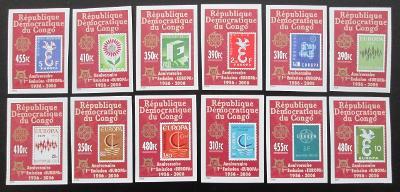 Kongo Dem 2005 Evropa CEPT Mi# 1831-42 B 30€ 0445A
