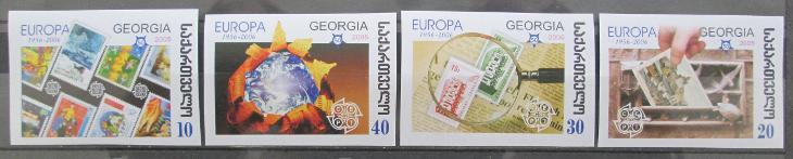 Gruzie 2006 Výročí Evropa CEPT Mi# 507-10 B 0449 - Filatelie