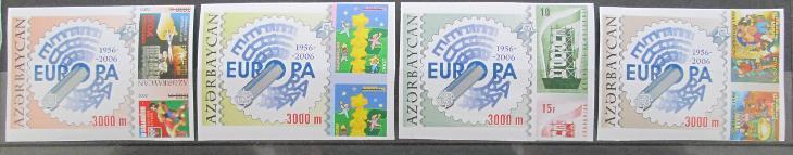 Azerbajdžán 2005 Evropa CEPT Mi# 620-23 B 9€ 0458 - Filatelie
