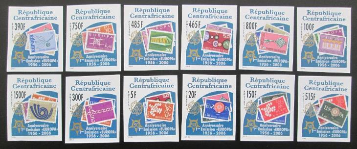 SAR 2005 Výročí Evropa CEPT Mi# 2913-24 B 0460 - Filatelie