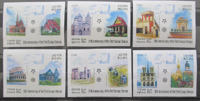 Laos 2005 Evropa CEPT Mi# 1973-78 B Kat 25€ 0460