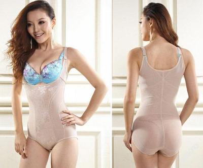 Stahovací prádlo body vel.L-XL,květovaný vzor,SP10