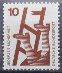 Německo 1972 Prevence nehod Mi# 695 A 0416