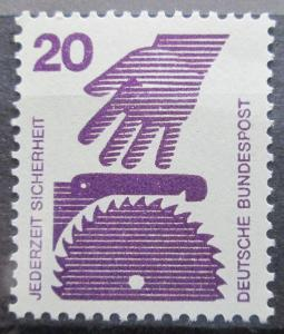 Německo 1972 Prevence nehod Mi# 696 A 0416