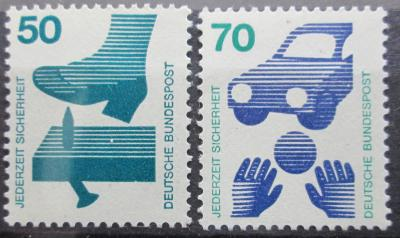 Německo 1973 Prevence nehod Mi# 700,773 4€ 0416