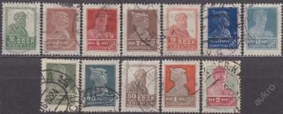SSSR - VÝPLATNÍ 1924 bez průsvitky - ražené