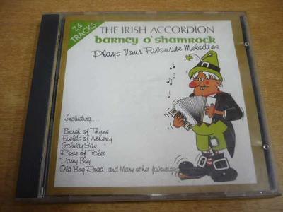 CD BARNEY O´SHAMROCK / The Irish Accordion