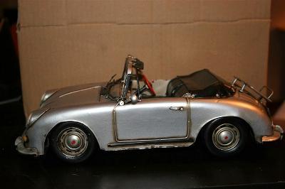 1:12 Plechový model  Porsche Speedster 356 1955
