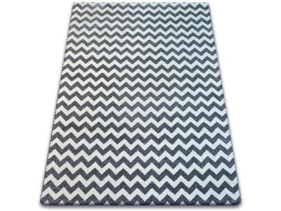 KOBEREC SKETCH 120x170 cm ZYGZAK šedý #GR2198