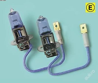 Žárovka H3 12V 55W - Sada BlueXenon 2ks