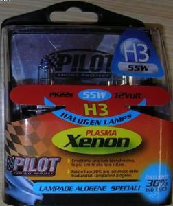 Žárovka H3 12V 55W - Sada PlasmaXenon 2ks