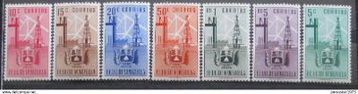 Venezuela 1951 Znak Zulia Mi# 694-700 Kat 75€ 0423