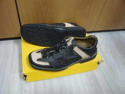 Nadměrná velikost pánské boty obuv ORTO 550 černé