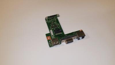 Lan + USB + VGA board z MSI CX70 2OD