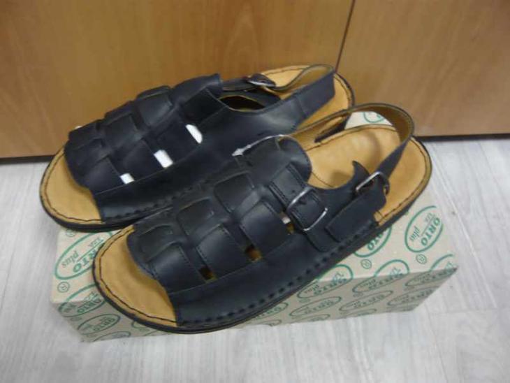 Pánské kožené sandály boty obuv ORTO vel. 42, 46 - Pánské boty