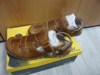 Pánské kožené sandály boty obuv West Coast 41, 45