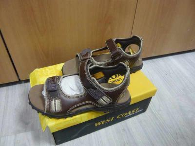 Pánské kožené sandály boty obuv West Coast 42