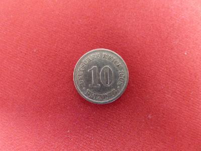 1908A-10 Pfennig-ražební stav, luxus