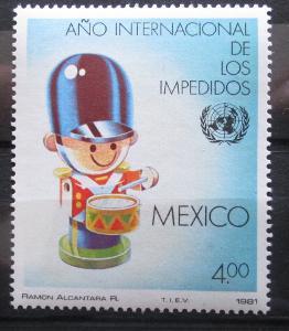 Mexiko 1981 Mez. rok postižených Mi# 1752 0955