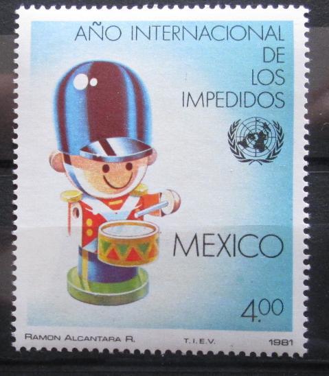 Mexiko 1981 Mez. rok postižených Mi# 1752 0955 - Filatelie
