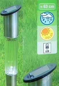 Solární zahradní LED světlo