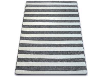 KOBEREC SKETCH 80x150 cm pásy MONO šedý #GR2211