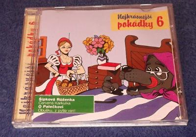 CD Nejkrásnější pohádky 6