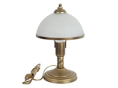 OLIMP 1s GOLD - krasná stolní lampa lampička