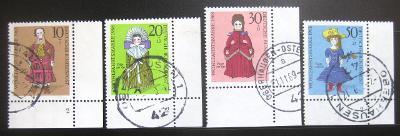 Německo 1968 Loutky Mi# 571-74 0824