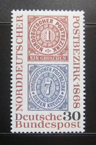 Německo 1968 Severoněmecká konf. Mi# 569 0831
