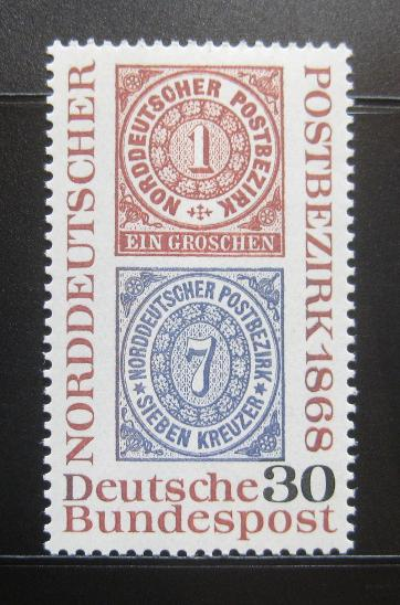 Německo 1968 Severoněmecká konf. Mi# 569 0831 - Filatelie