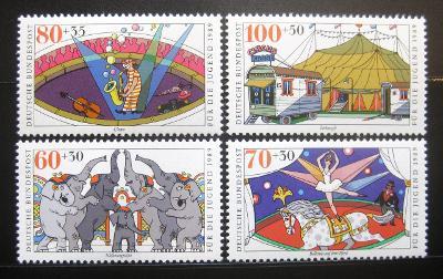 Německo 1989 Cirkus Mi# 1411-14 Kat 13€ 0831