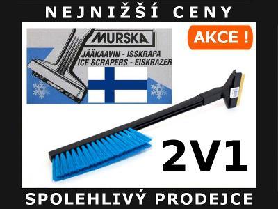 ORIGINÁLNÍ FINSKÁ SUPER ŠKRABKA + KARTÁČ MURSKA