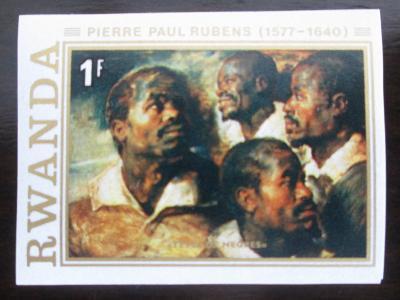 Rwanda 1977 Umění, Rubens, vzácné Mi# 886 B 0797