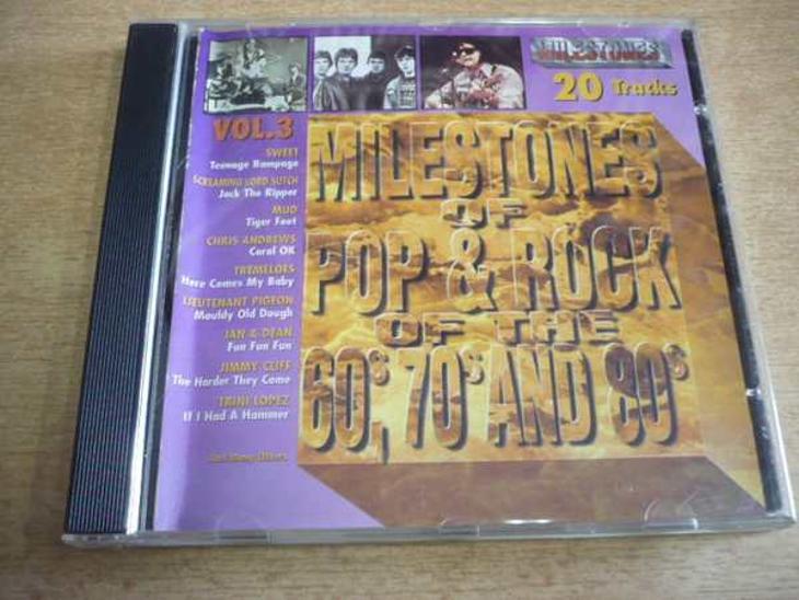 CD Milestones of Pop & Rock Vol.3 - Hudba