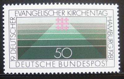 Německo 1981 Setkání protestantů Mi# 1098 0640