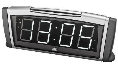 Kvalitní budík XONIX, regulace jasu, alarm+snooze